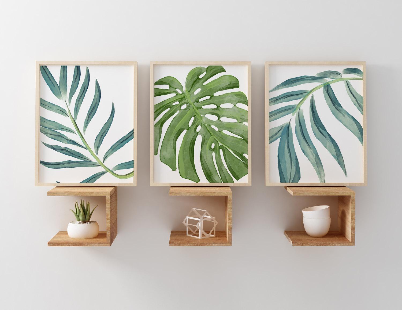 20 Best Ideas Palm Leaf Wall Art