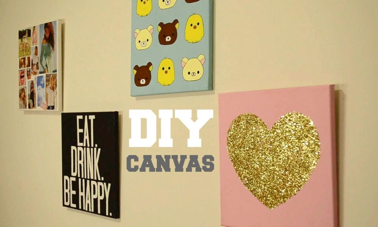 20 Ideas Of Homemade Wall Art