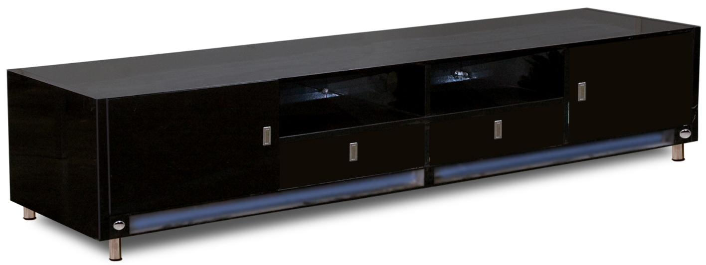 20 Best Collection Of Long Black Tv Stands