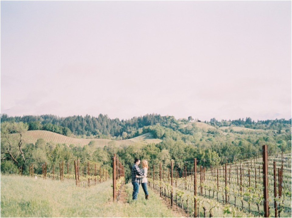 Iron Horse Vineyards Sebastopol Winery Wedding Photographer Isobel & Elliot Engaged09