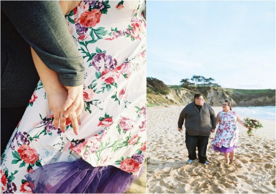 Montara State Beach Half Moon Bay Engagement Session Photographer Jenn & Rob05
