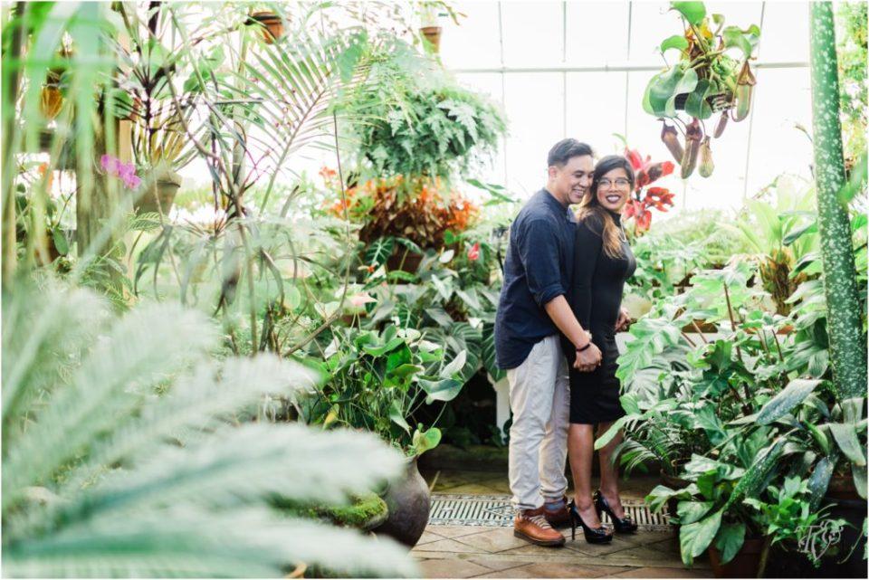 Golden Gate Park, Conservatory of Flowers Engagement