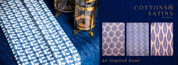 Inspired by blue pottery, this was a ad created for social media.