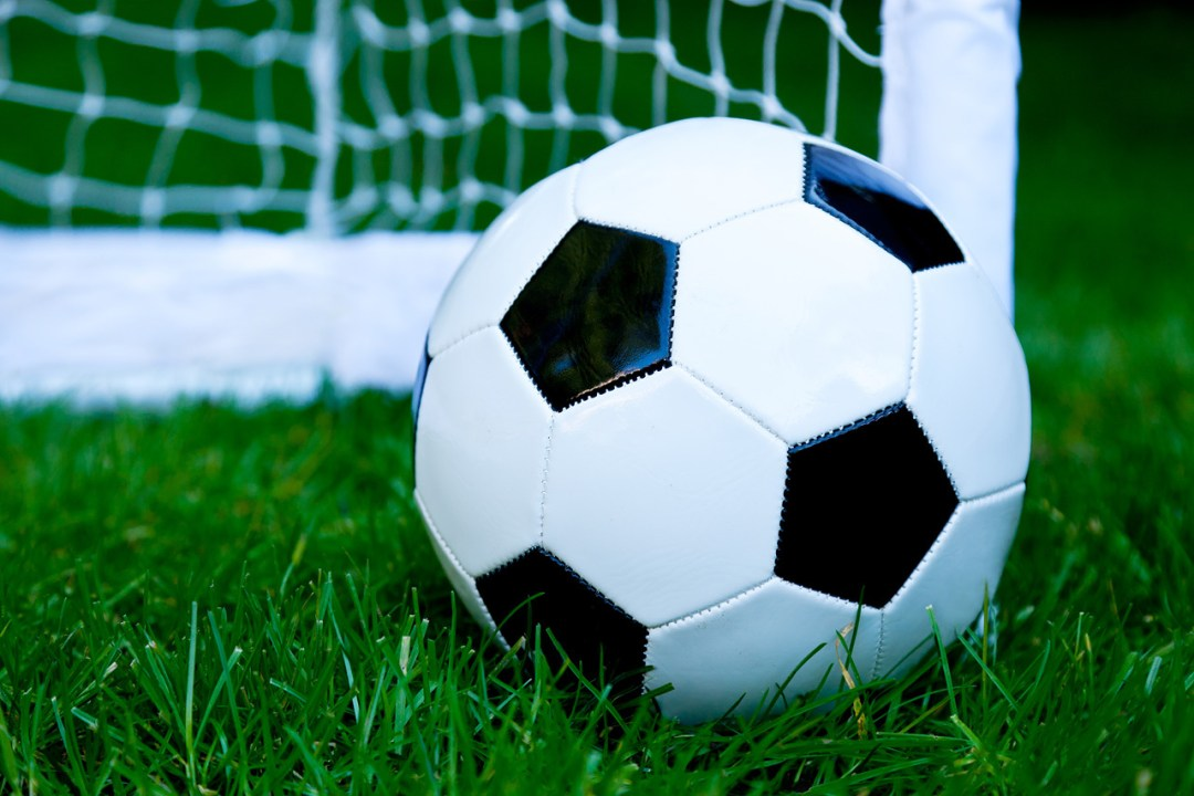 Product - Close-up of football on grass