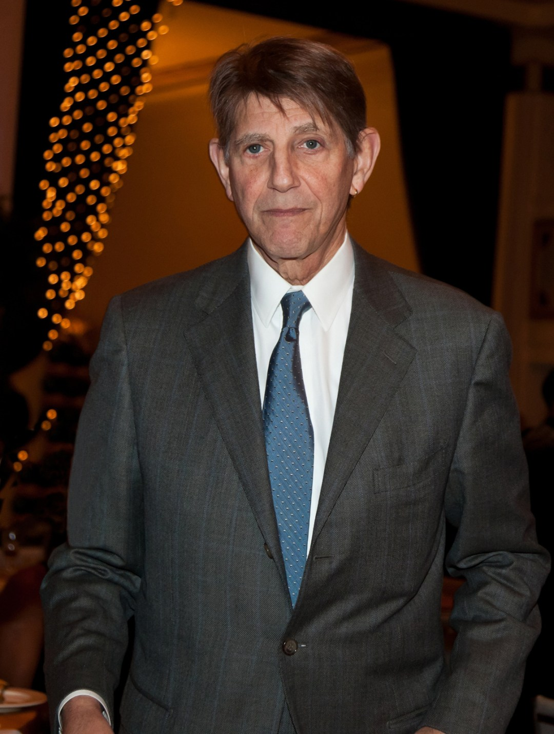 Candid shot of Peter Coyote