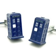 dr who cuff links