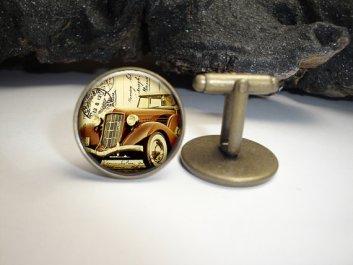 vintage car cuff links