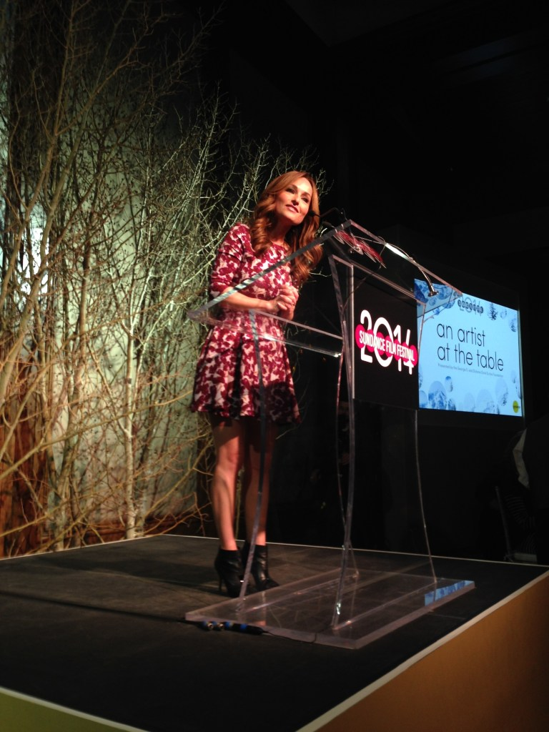 Sundance:  Giana De Laurentiis at the Artist at the Table event