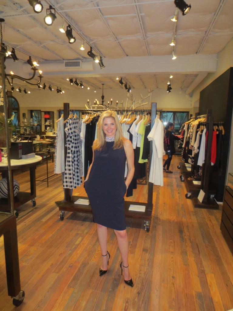 Moschino dress - Tanya Foster