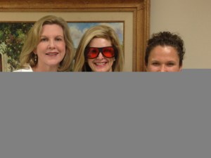Dr. Lori Stetler and Tanya Foster