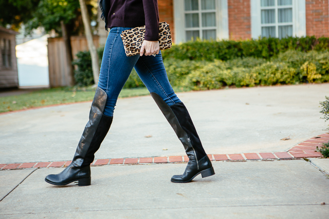 Tanya Foster - over the knee boots