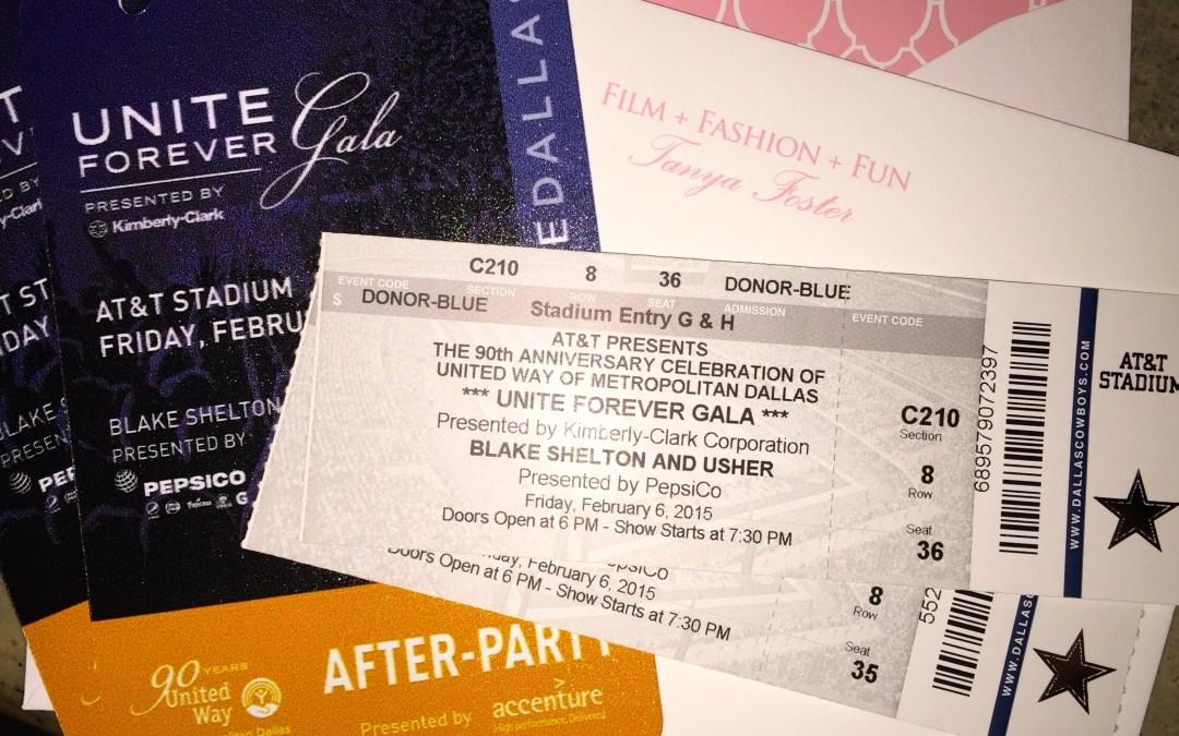 Winner: Usher and Blake shelton concert