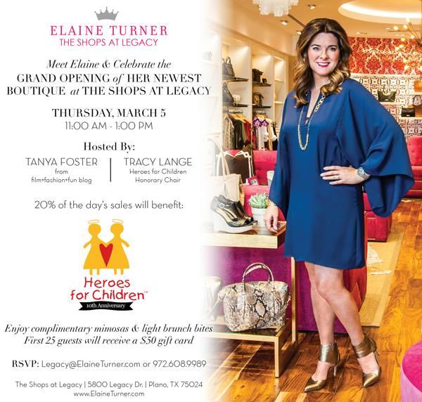 Elaine Turner opening