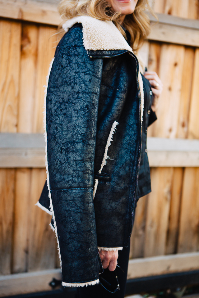 winter bomber jacket