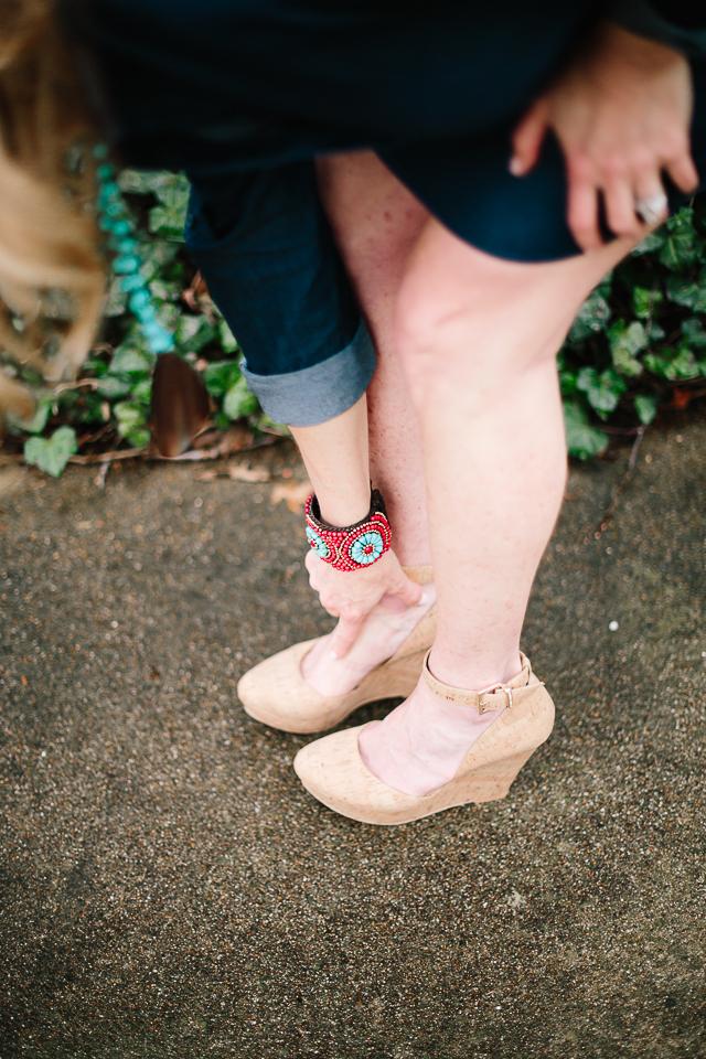 Tanya Foster - nude heels