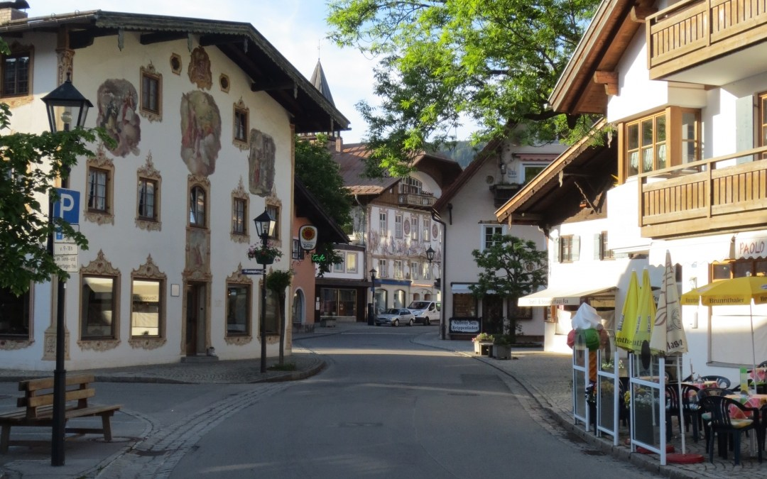 travel destination: oberammergau
