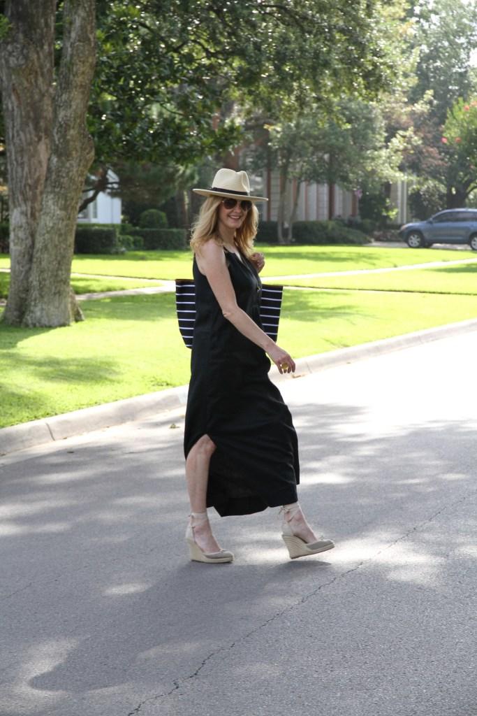 J.crew black dress, barrington gifts, tanya foster