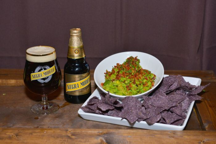 negra modelo event with Chef Rick Bayless