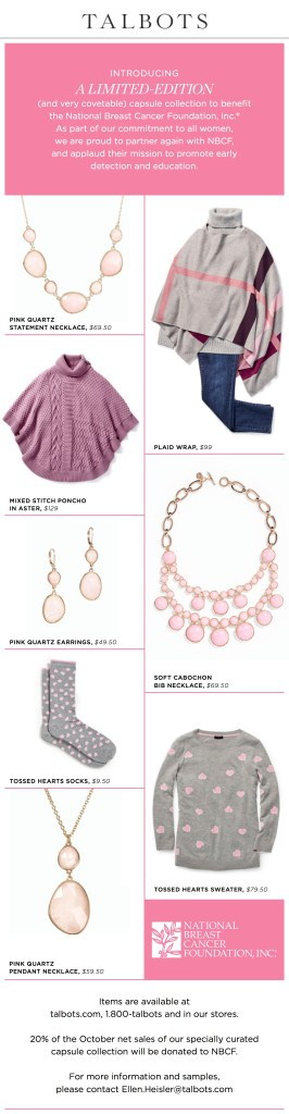 Talbots, Pink Party, FilmFashionFun.com