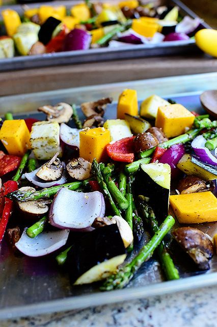 roasted vegetables, tanyafoster.com