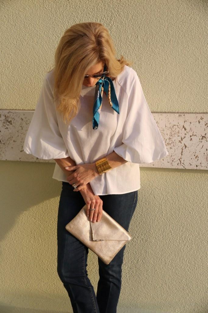 Zara white blouse, tanya foster, tanyafoster.com