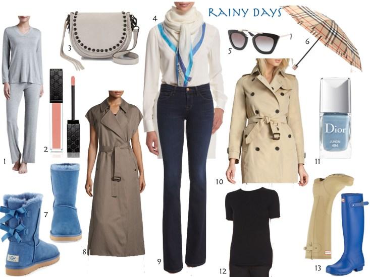 rainy days, rain gear, neiman marcus, tanyafoster.com