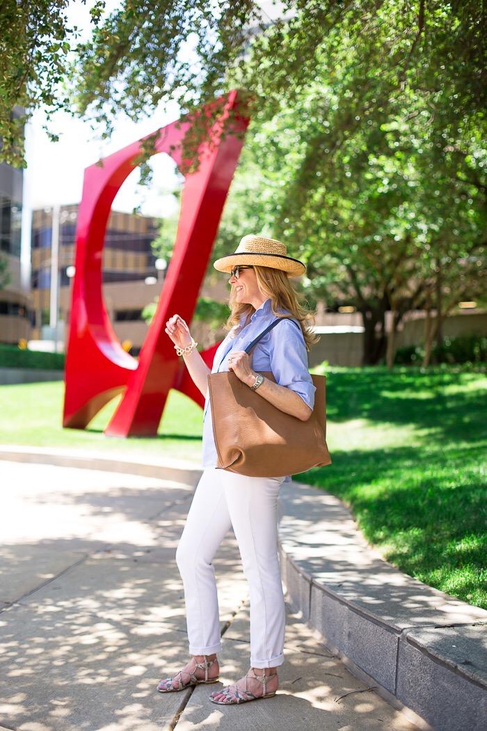 Reversible bag, Nordstrom, summer casual, Tanya Foster Instagram, sale