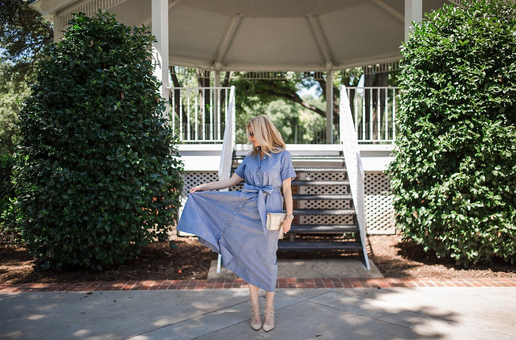 Avenue 32 | Chambray Dress