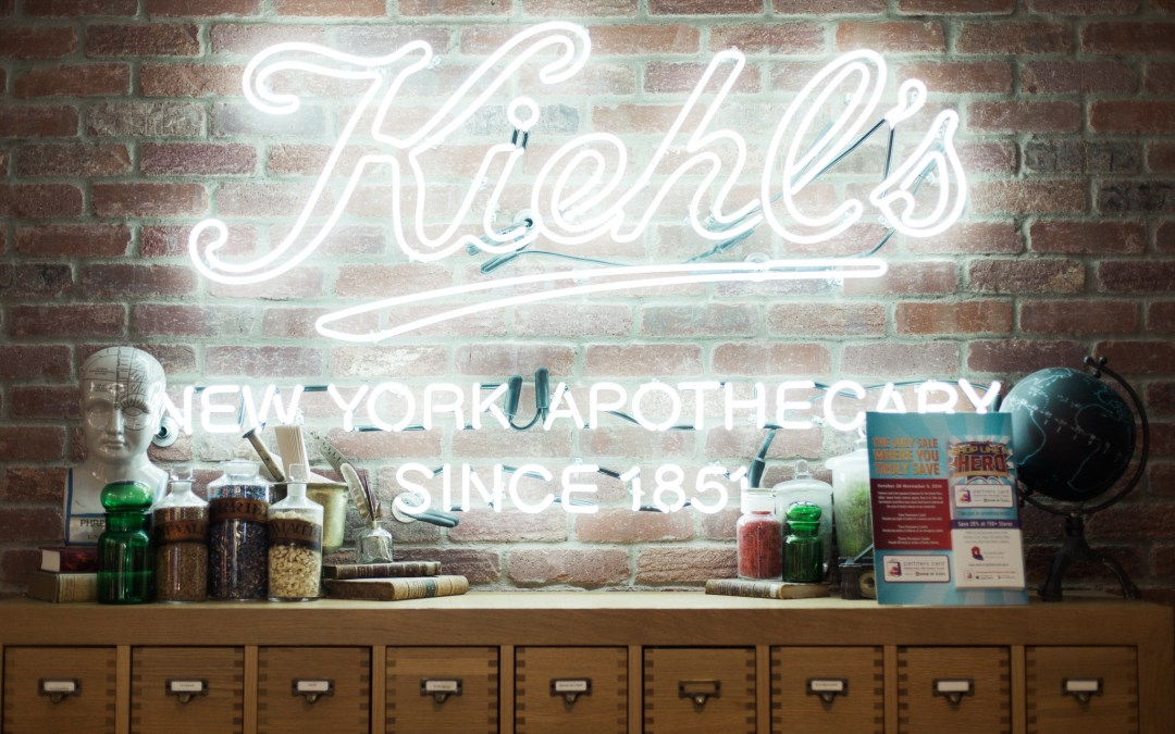 Apothecary Preparations with Kiehl's