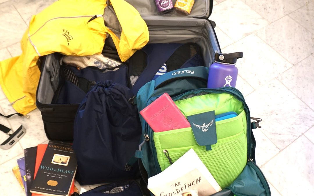 How to pack for a four month trip