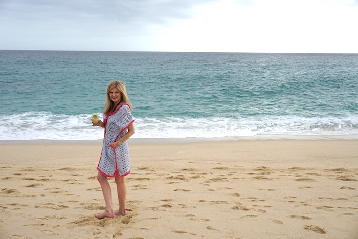 TanyaFoster.com and The Lush List in Roberta Roller Rabbit cover ups from Saint Bernard in Cabo.