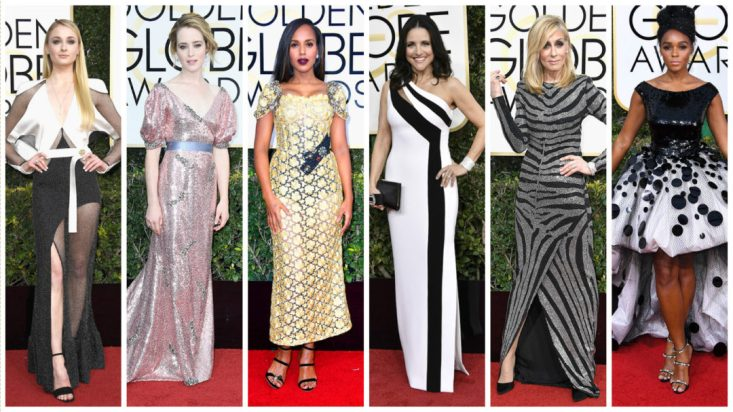 Tanya Foster's choices for worst dressed at the 2017 Golden Globes.