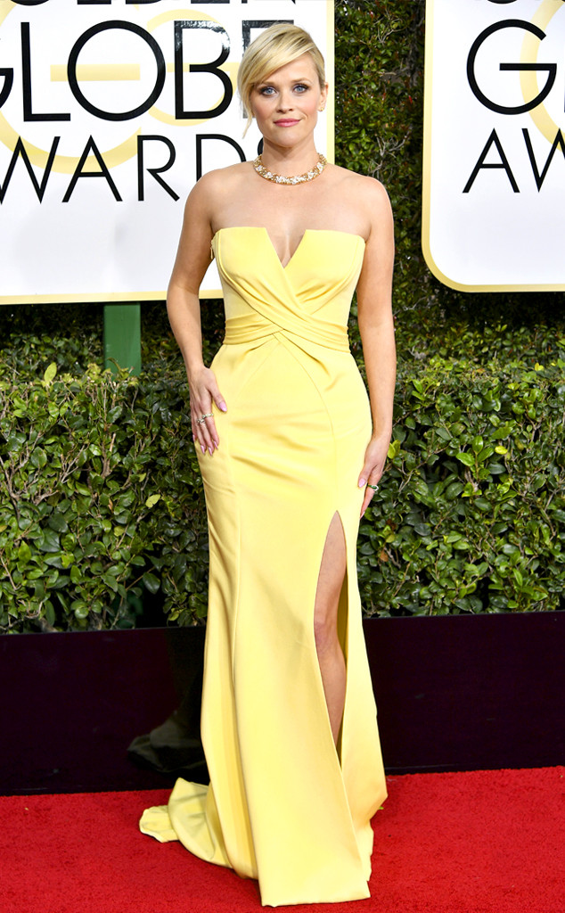 Reese Witherspoon at the 2017 Golden Globes