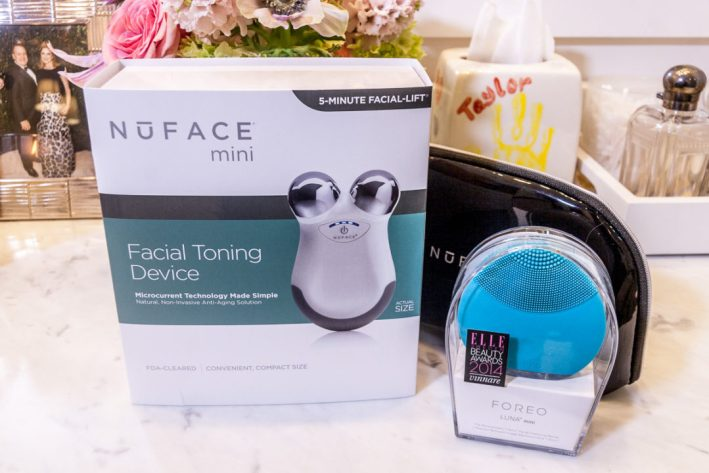 TanyaFoster.com giveaway on the blog for FOREO and NuFace.
