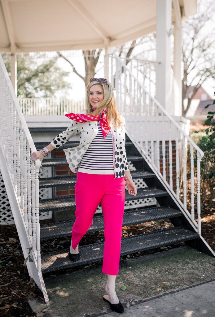 Tanya Foster helps launch the Talbots and O campaign benefitting Dress for Success