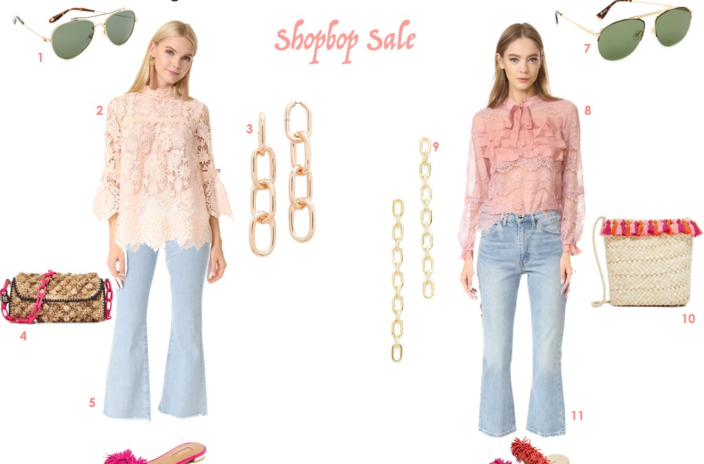 How to style a high/low look during the Shopbop Sale