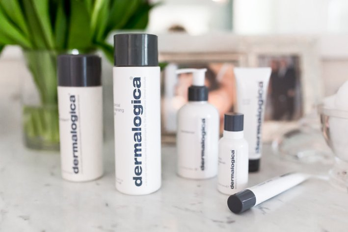 The Dermalogica skincare line is a great way to reset your skin and take a break.