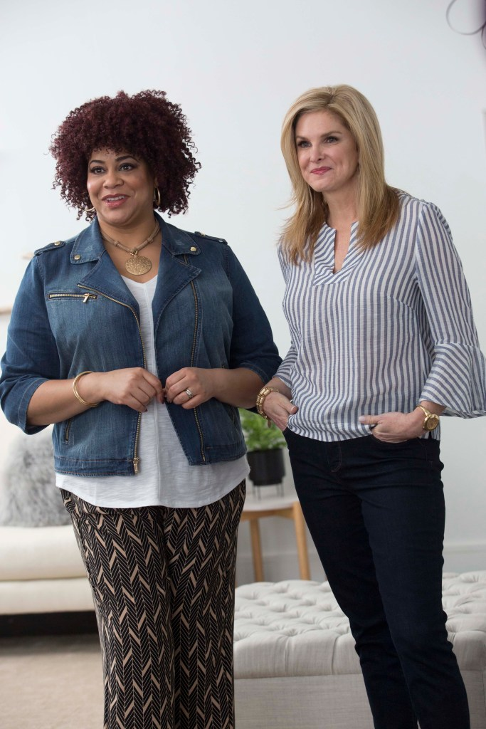 Tanya Foster and Kim Coles on denim trends with Chico's Chic To Chic