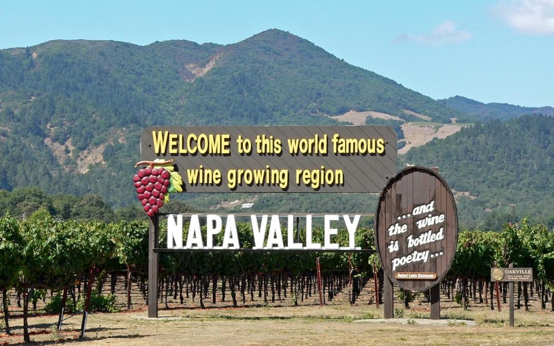 destination: Napa, California