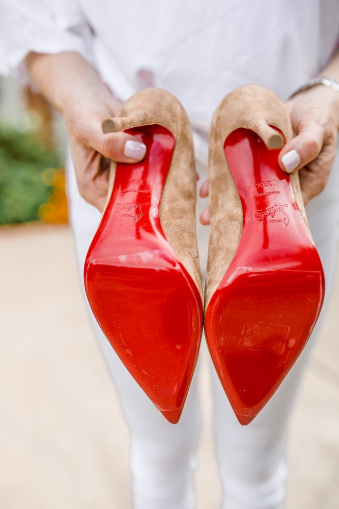 a820ac3ff7a How to wear and protect your Christian Louboutin shoes.