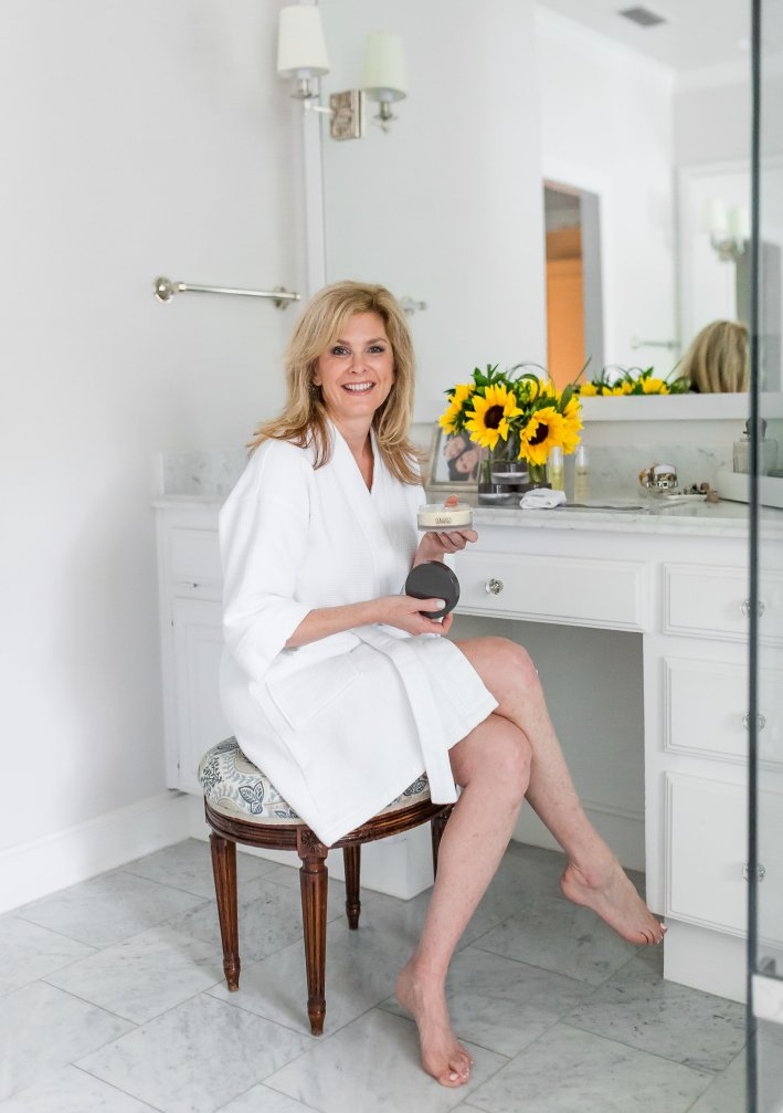 Using Colleen Rothschild Beauty for my summer skincare routine on TanyaFoster.com