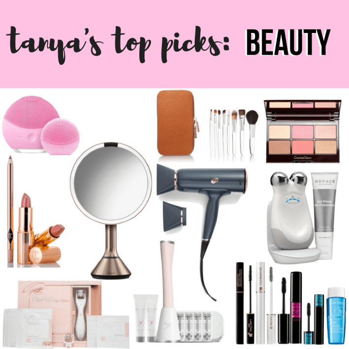 tanya's top picks for BEAUTY during the Nordstrom Anniversary Sale