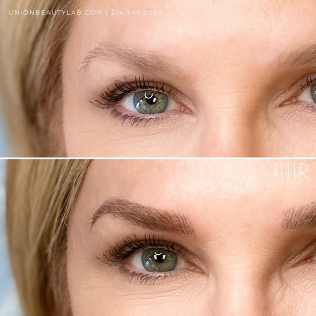 The perfect eyebrow: Microblading
