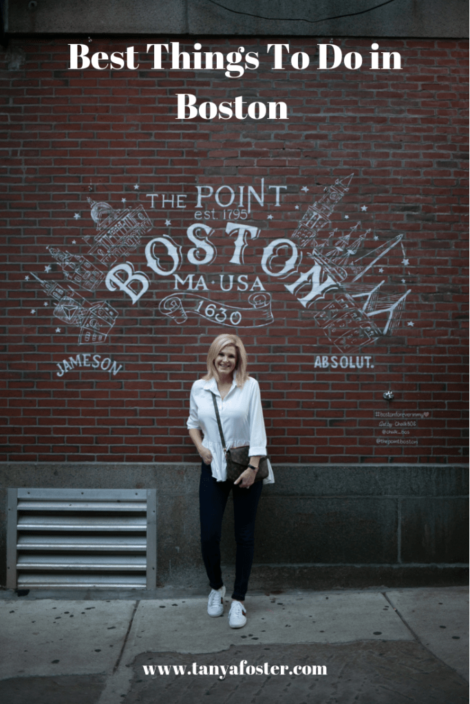 Tanya Foster visits Boston and shares her recommendations