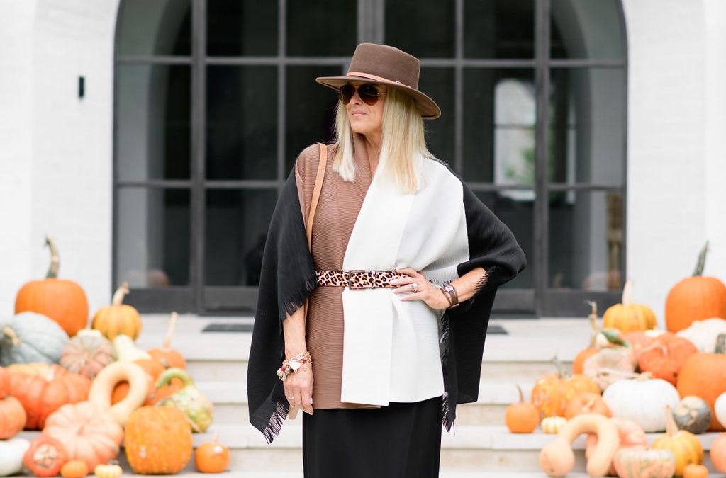 More is More   How to Style a Black Maxi Dress for Fall