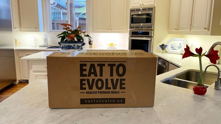 Keto pre-made meals with Evolve