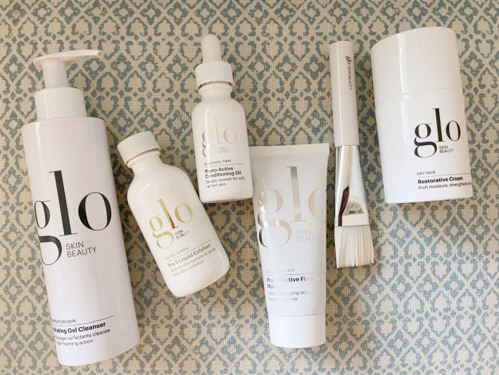Glo Skin Beauty Self Care Kit products