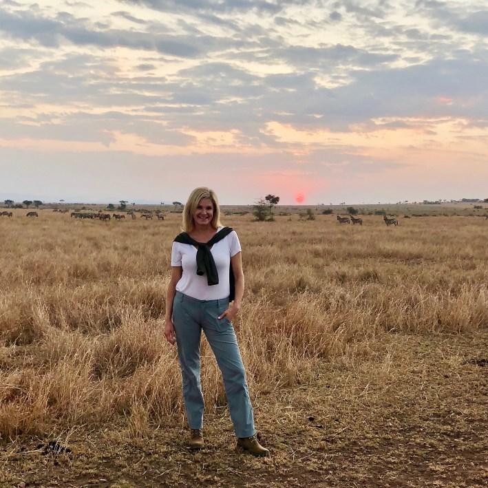 Animals and landscape while on photo safari on the Grumeti Reserve and Serengeti National Park