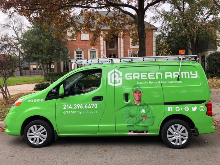 Green Army can do window cleaning and much more in addition to pest services.