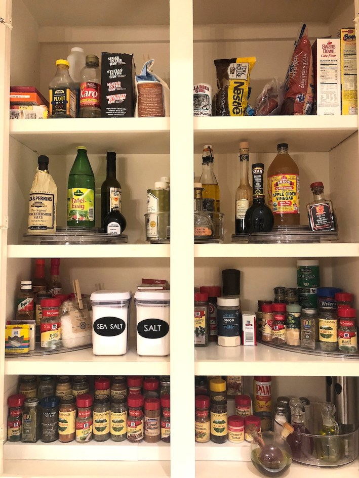 Organizing my spice cabinet with The Container Store